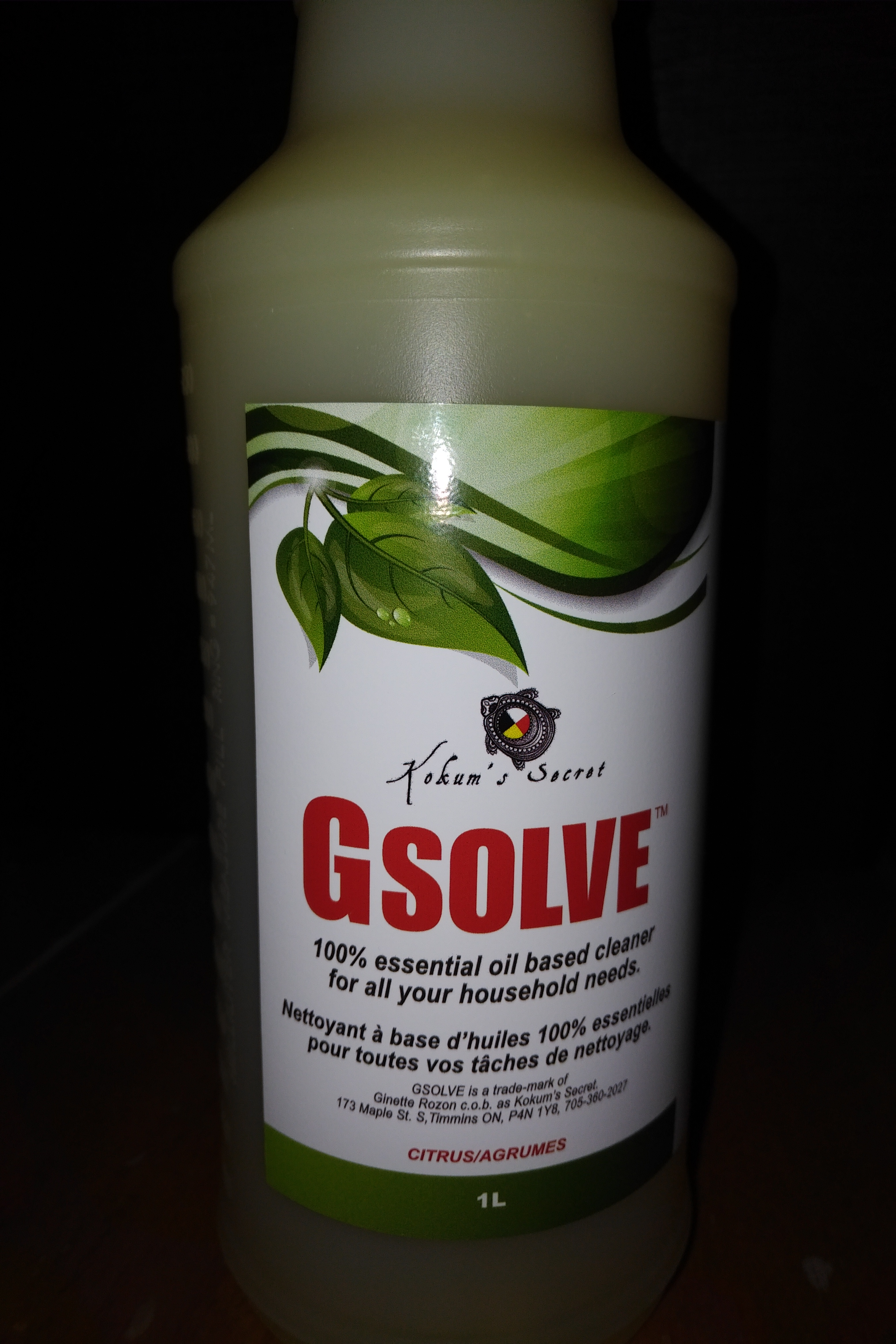 GSOLVE™ (all purpose cleaning made from essential oils) G ...